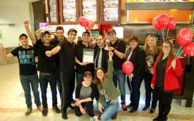 Grillades Torino at Place Laurier Quebec City: Winner for Best Customer Service 2014 under the C3 Mystery Shopping Program!