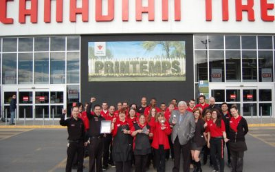 Canadian Tire Maisonneuve wins the award for Best Customer Service in 2014!